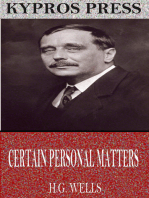 Certain Personal Manners