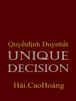 Unique Decision