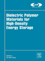 Dielectric Polymer Materials for High-Density Energy Storage