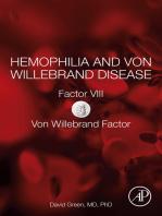 Hemophilia and Von Willebrand Disease: Factor VIII and Von Willebrand Factor
