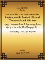 Amitayus Long Life Sutra eBook