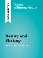 Benny and Shrimp by Katarina Mazetti (Book Analysis)