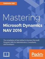 Mastering Microsoft Dynamics NAV 2016