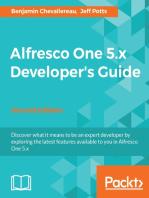 Alfresco One 5.x Developer's Guide - Second Edition