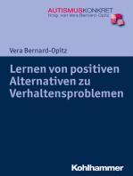 Lernen von positiven Alternativen zu Verhaltensproblemen