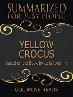 Yellow Crocus - Summarized for Busy People
