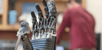 'E-skin' Lets Prosthetic Hands Sense Touch And Pain