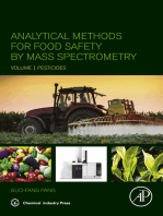 Analytical Methods for Food Safety by Mass Spectrometry
