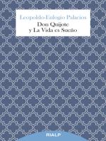 Don Quijote y La Vida es Sueño