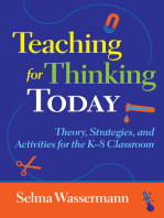 Teaching for Thinking Today
