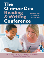 The One-on-One Reading and Writing Conference