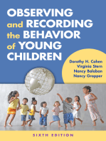 Observing and Recording the Behavior of Young Children, Sixth Edition