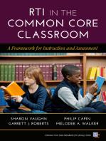 RTI in the Common Core Classroom