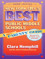 New York City's Best Public Middle Schools