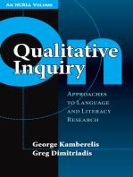 On Qualitative Inquiry