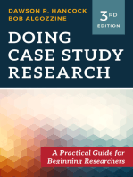Doing Case Study Research: A Practical Guide for Beginning Researchers