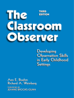 Classroom Observer: Developing Observation Skills in Early Childhood Settings