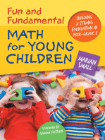 Fun and Fundamental Math for Young Children