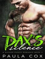 Dax's Silence: A Bad Boy MMA Fighter Romance: A Sucker Punch Romance, #3