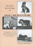 NEW KNOWLEDGE OF DOG BEHAVIOR