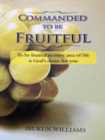 Commanded to Be Fruitful