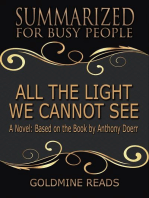 All The Light We Cannot See - Summarized for Busy People