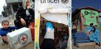 Logos On Aid Supplies