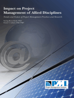 Impact on Project Management of Allied Disciplines