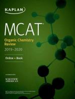 MCAT Organic Chemistry Review 2019-2020