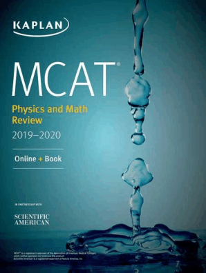 MCAT Physics and Math Review 2019-2020 by Kaplan Test Prep - Read Online