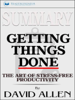 Summary of Getting Things Done