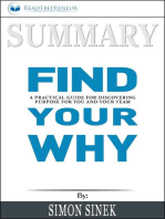Summary of Find Your Why
