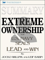 Summary of Extreme Ownership