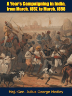 A Year's Campaigning in India, from March, 1857 to March, 1858