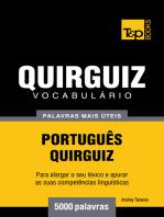 Vocabulário Português-Quirguiz