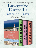 Lawrence Durrell's Notes on Travel Volume Two