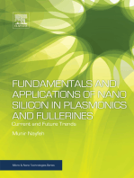 Fundamentals and Applications of Nano Silicon in Plasmonics and Fullerines