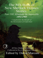 The MX Book of New Sherlock Holmes Stories - Part VIII
