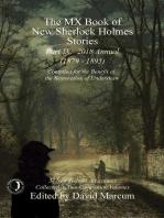 The MX Book of New Sherlock Holmes Stories - Part IX