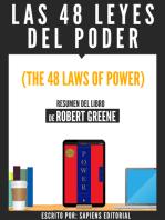 Las 48 Leyes Del Poder (The 48 Laws Of Power) - Resumen Del Libro De Robert Greene