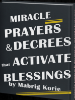 Miracle Prayers and Decrees that Activate Blessings