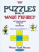 100 Puzzles Book of Magic Figures