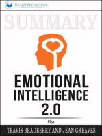 Summary of Emotional Intelligence 2.0 by Travis Bradberry & Jean Greaves