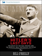 Summary of Hitler's Last Days