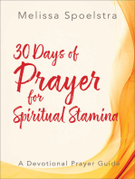 30 Days of Prayer for Spiritual Stamina