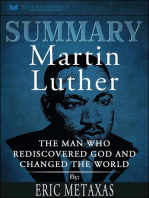 Summary of Martin Luther