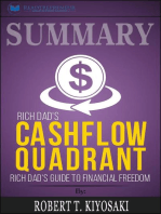 Summary of Rich Dad's Cashflow Quadrant