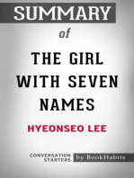 Summary of The Girl with Seven Names Hyeonseo Lee | Conversation Starters