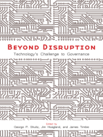 Beyond Disruption