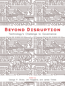 Beyond Disruption: Technology's Challenge to Governance